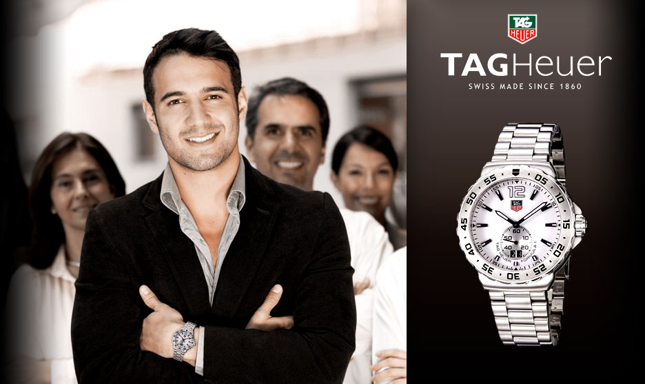 TAG Heuer Men's Formula 1 White Dial